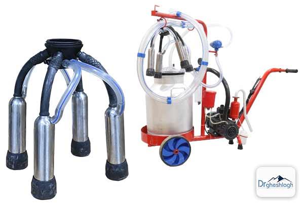 تمیز کردن لاینر دستگاه شیر دوش - صنایع ماشین سازی دکتر قشلاق