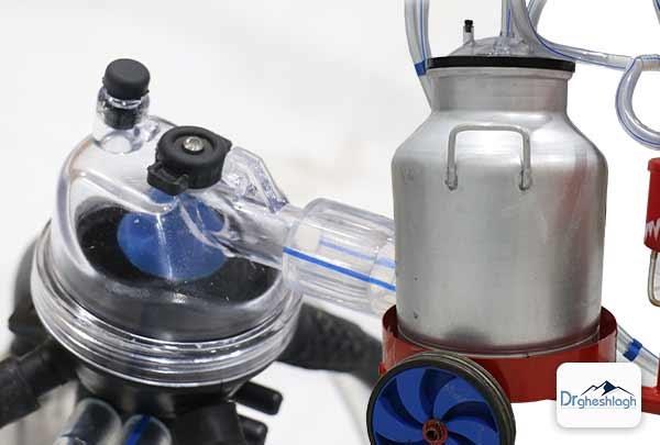 تمیز کردن شیردوش گاو - صنایع ماشین سازی دکتر قشلاق