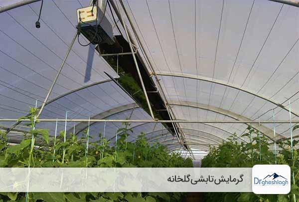 گرمایش تابشی گلخانه - صنایع ماشین سازی دکتر قشلاق