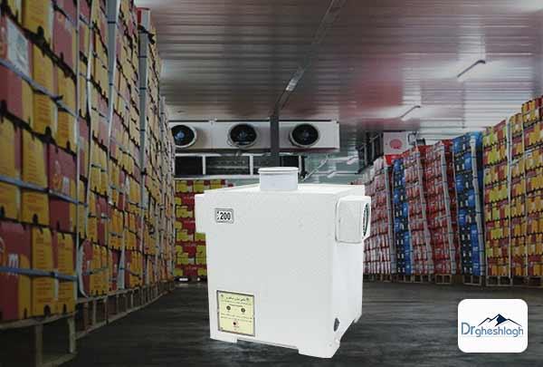 رطوبت ساز انبار میوه-صنایع ماشین سازی دکتر قشلاق