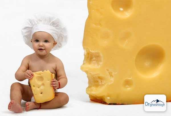 فواید پنیر برای کودکان-دکتر قشلاق