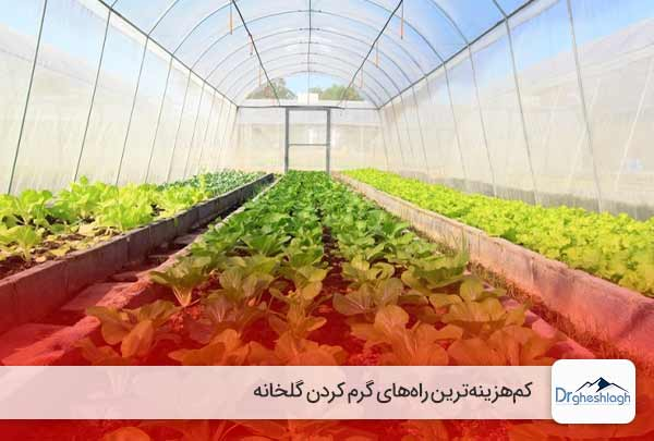 گرم کردن گلخانه با هزینه کم-دکتر قشلاق
