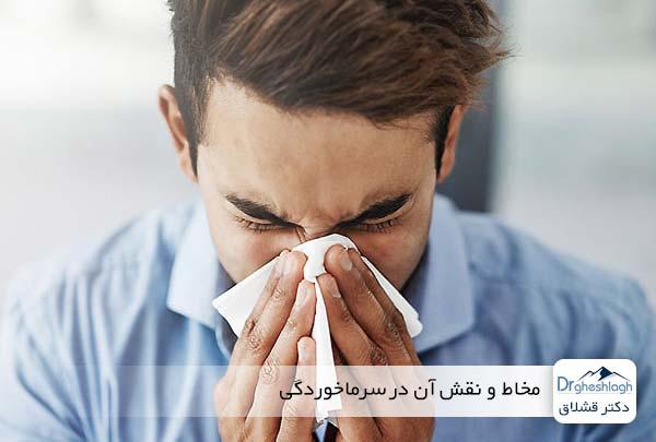 مخاط و نقش آن در سرماخوردگی - دکتر قشلاق