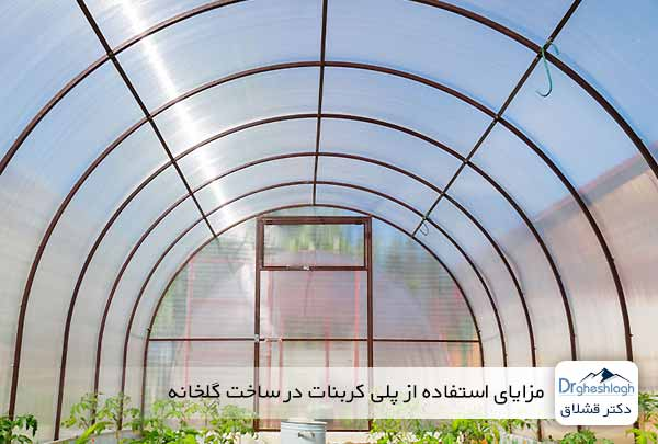 مزایای استفاده از پلی کربنات در ساخت گلخانه - دکتر قشلاق