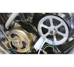استفاده از موتور در پایین دستگاه