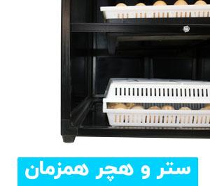 ستر و هچر همزمان دستگاه جوجه کشی درنا 2