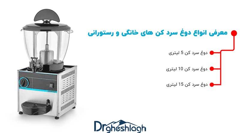 معرفی انواع دوغ سردکن های خانگی