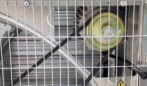 تسمه و موتور فن 140 سانتی متری