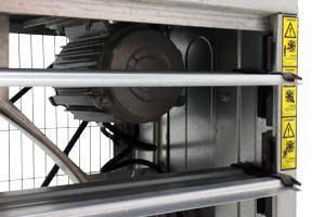 موتور فن مرغداری و گلخانه 140 سانتی متری